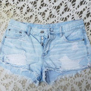 American Eagle Outfitters Sz 10 Distressed Cut Off